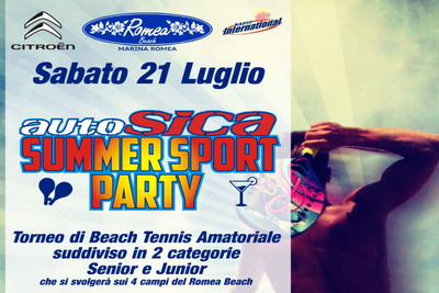 AUTOSICA SUMMER SPORT PARTY