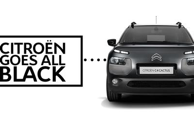 CITROEN GOES ALL BLACK